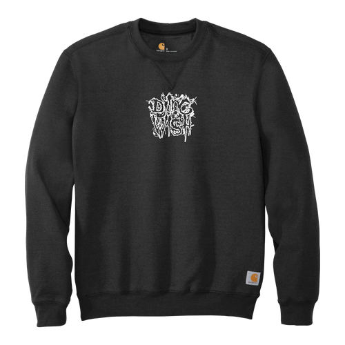Dying Wish - Embroidered Stacked Logo Carhartt® Crewneck