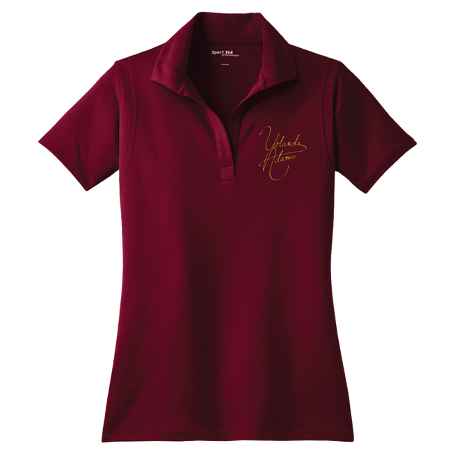 Yolanda Adams - Red Polo Shirt (Pre-Order)