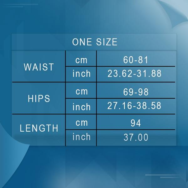 Women Gray Push Up High Waist Leggings SIZE CHART