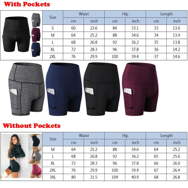 YOGA SHORTS WORK OUT ACTIVEWEAR CLOTHES WOMENS