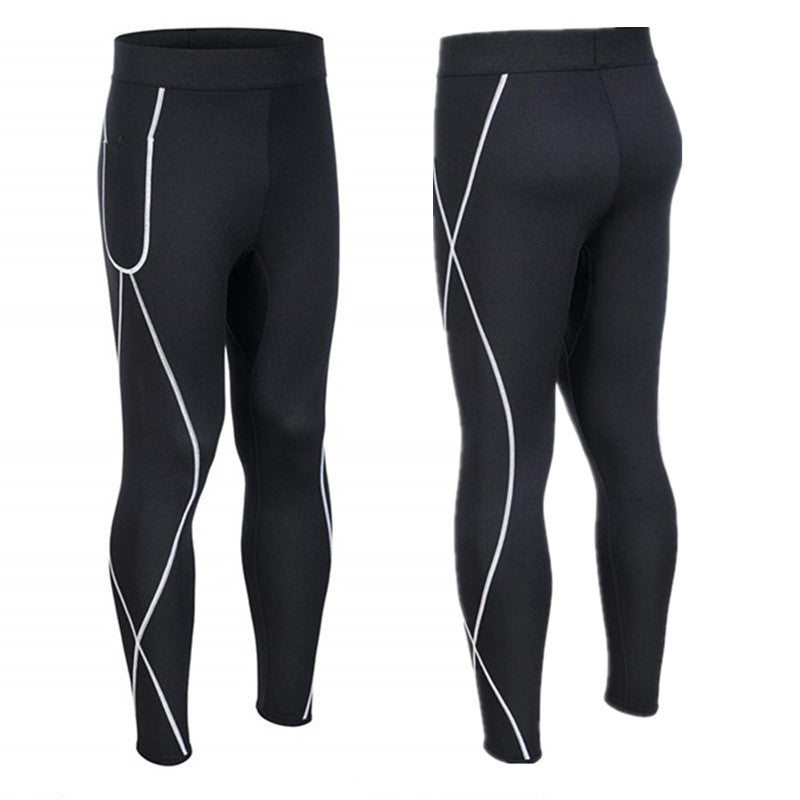 Men's neoprene body trousers