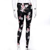 women floral printed leggings workout