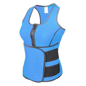 Womens Neoprene Sauna Suit & Waist Reducer