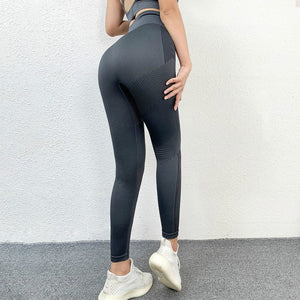Quick Dry Tummy Control  Tights Women Flexible High Waist Yoga Compression Leggings