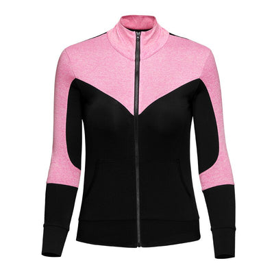 2020 Women's New Zipper Running Coat