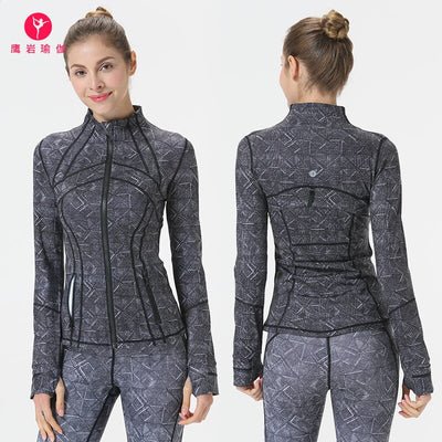 Women's Tight-Fit Quick-Dry Print Fashion Yoga set