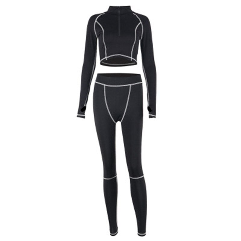 Long-sleeved Yoga Suit