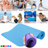 183*61*1cm Thickness Non-Slip Soft Pilates Mats Foldable for Body Building Fitness Exercises Equipment