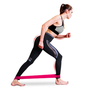Yoga Glutes Workout Crossfit Bands