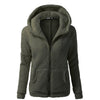 Women's Warm Fleece  Fur Plus Size S-5XL Casual Hoodies Zipper Sweatshirts