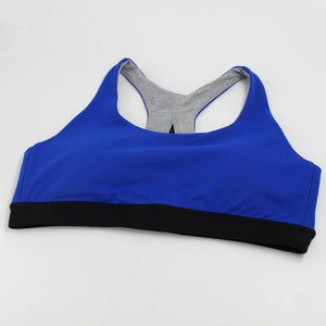 Old Navy Blue-Women's padded sports bra for running