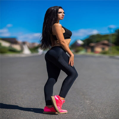 Female High Waist Leggings Workout
