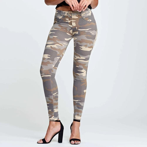 Women High Waisted Sexy Army green workout Leggings
