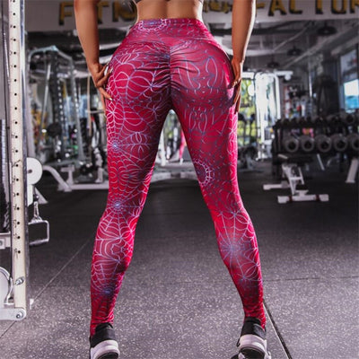 New cheap High waist Slimming Skinny Camouflage Workout Leggings