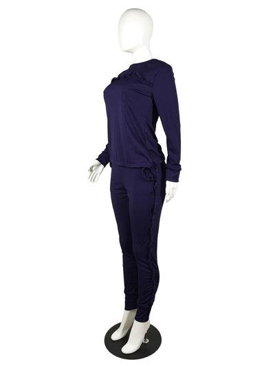 New Outdoor Solid Long-Sleeved Workout Clothes For Women