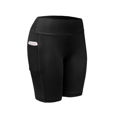 Women's New Quick-drying Cycling Jersey Stretch Pocket Yoga Climbing Shorts