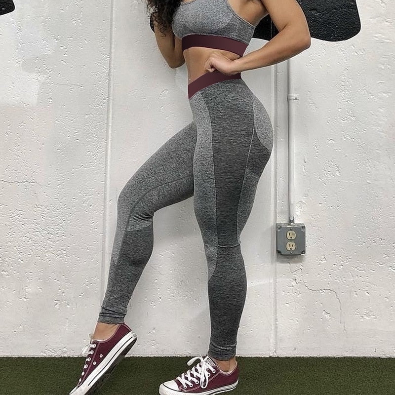 Women Sexy Seamless Pants Bodybuilding Clothing