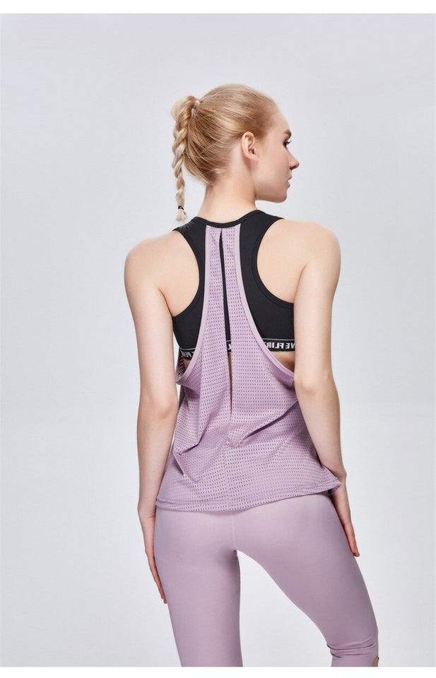 backless gym tops