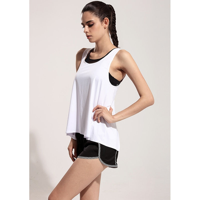 sport tops backless