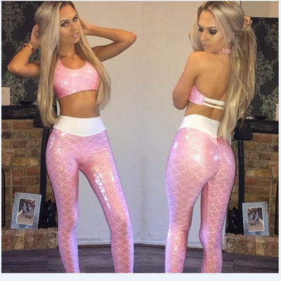 Sports suit New Women Set Yoga Workout Pants Skinny Running Fitness