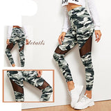 High Waist Workout Camouflage Leggings
