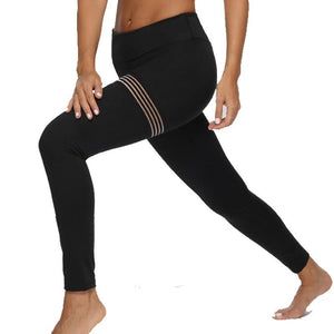 women's workout black leggings