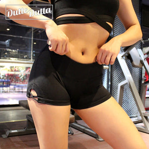 Woman Compression Tight High Waist Elastic Sports Shorts