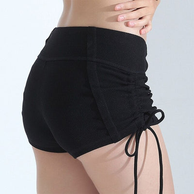 Biker Hot Compression Tight Yoga Shorts For Women