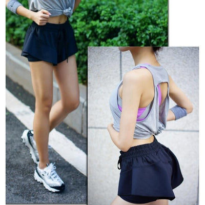 Women Breathable Sport Anti-lightin Short