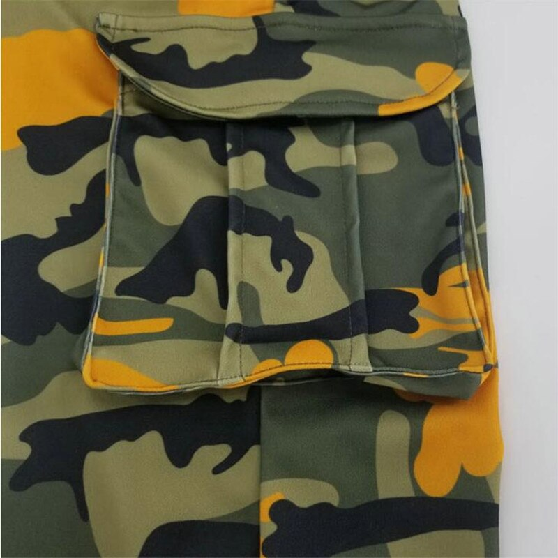 New Womens Army Military Camouflage Fitted Stretch Hot Pants Shorts Size 8 to 14