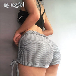 Women's High Waist Breathable Workout Shorts
