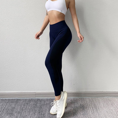 Women High Waist Seamless Tights Leggings