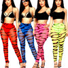 Beach High Waist Leggings Long Pants