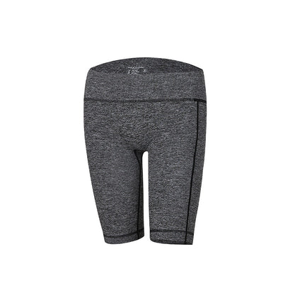High Waist Fitness Grey Leggings Tights Workout Shorts For Women