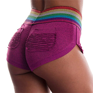 Women Summer Yoga Shorts