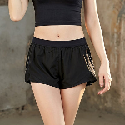 Women yoga Spandex Shorts Sports with Pocket for phone