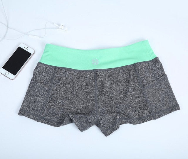 Yoga Sport Activewear work out Shorts with pocket