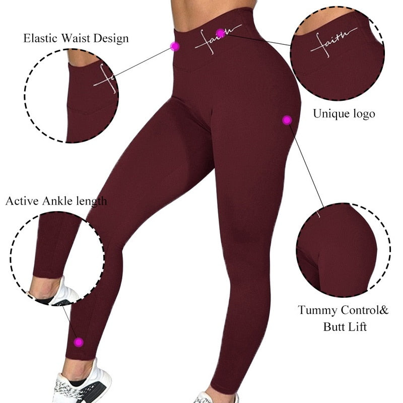 New Push Up Leggings Women Workout Leggings