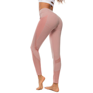 shark push up yoga pants with pockets sport leggings women