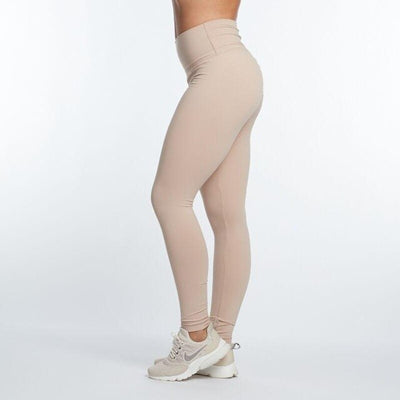 Female Slim Ruched Polyester High Waist Jeggings