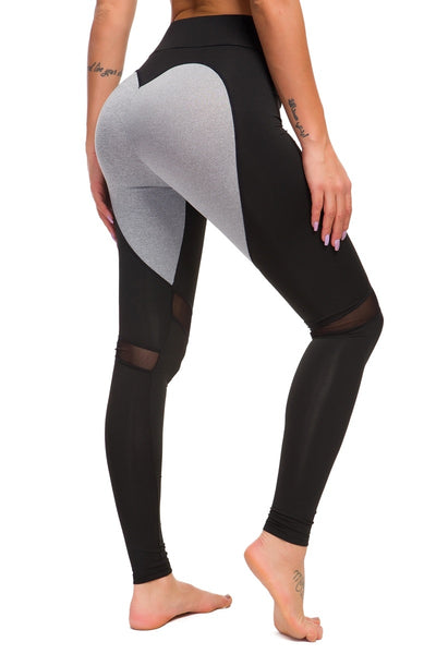 Workout Breathable Love color mosaic yoga pants