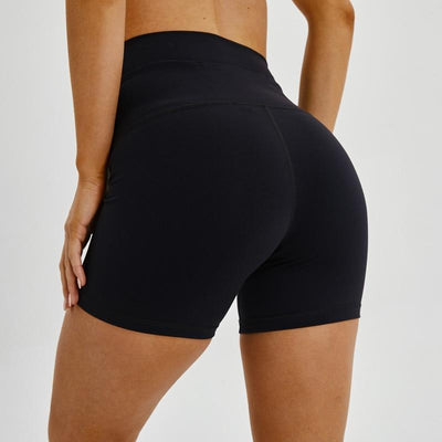 Women  Quick Dry high waisted workout yoga bike Shorts