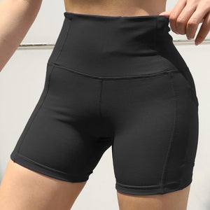 Women High Waist Tight Gym Workout Shorts