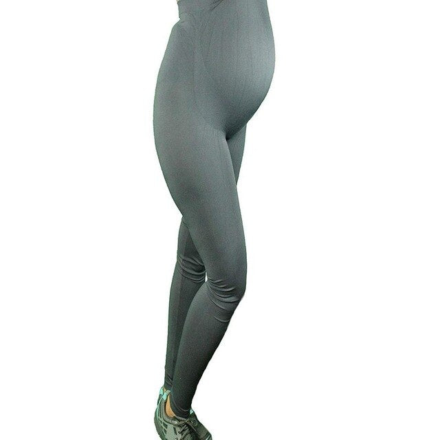 Women's Elastic Waist Maternity  Yoga Pants