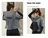 Women's long sleeve running jacket