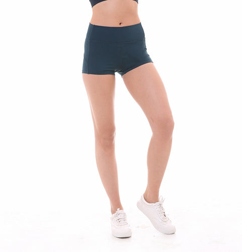 Women's Slim Tummy Control Gym Athletic Shorts