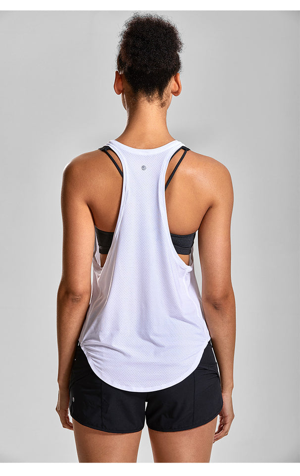 Women's Workout Racerback Yoga Tops