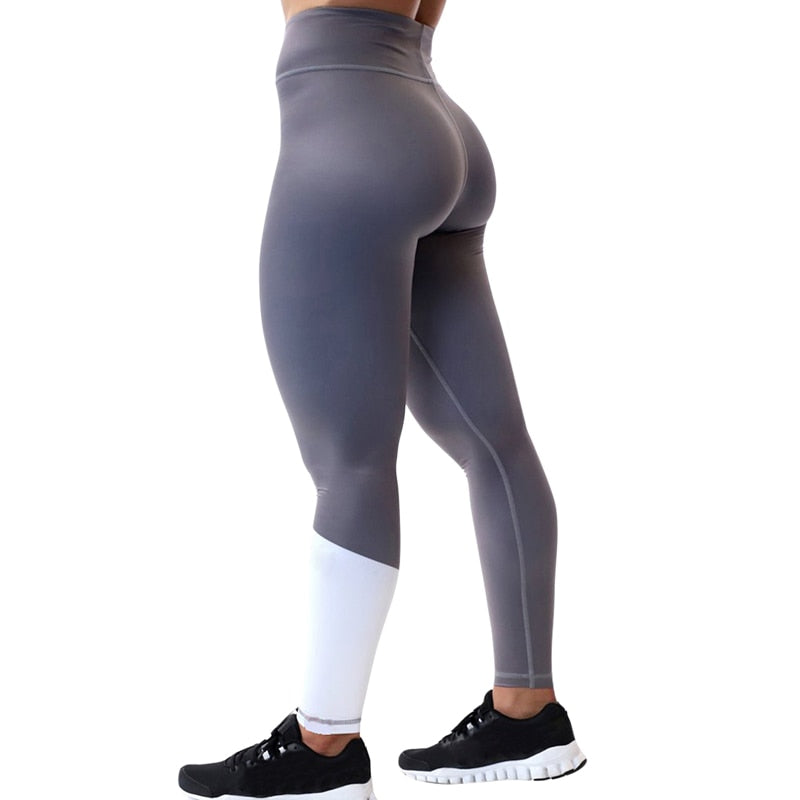Patchwork Stretchy Fitness Leggings