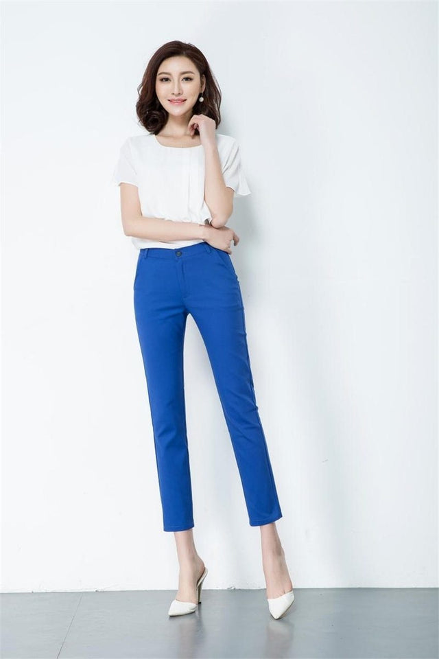 Women Trousers Work Wear