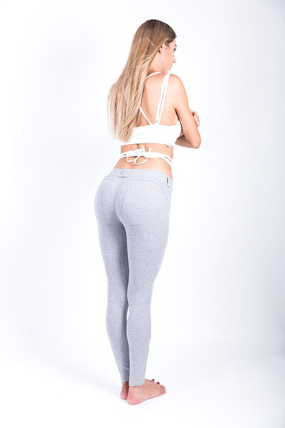 Women Low Waist Thick Elastic Hip Push Up Yoga Leggings